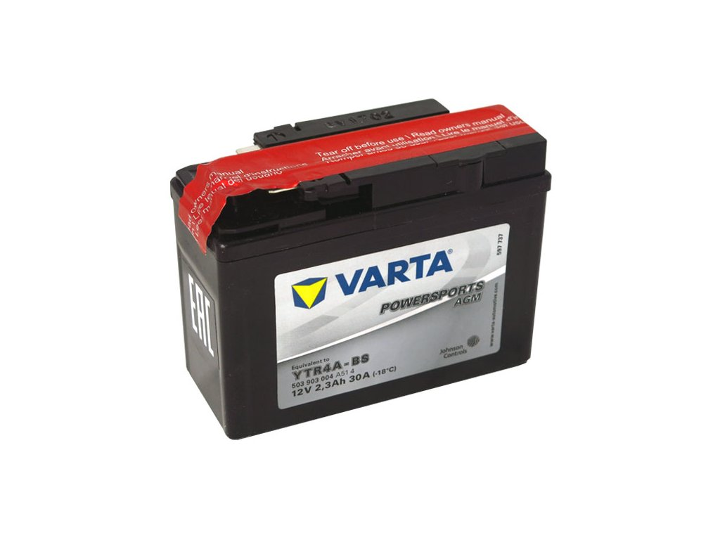 Motobaterie VARTA  YTR4A-BS, 3Ah, 12V