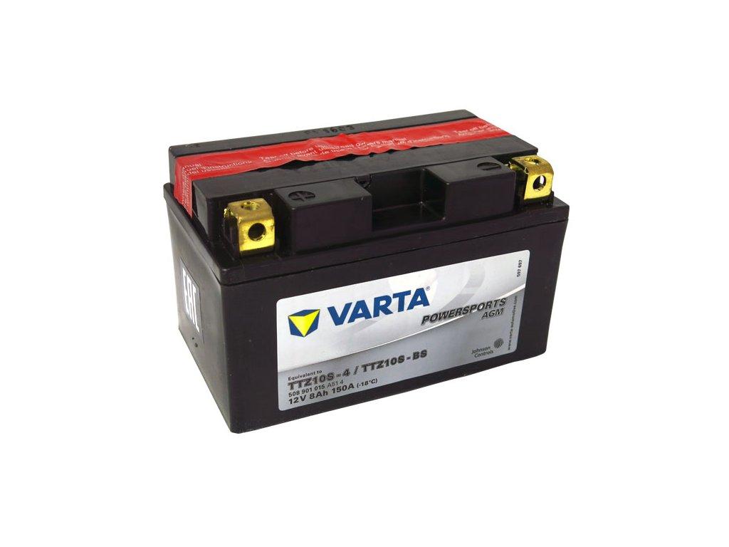 Motobaterie VARTA  TTZ10S-BS / YTZ10S-BS, 8Ah, 12V