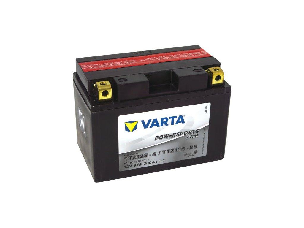 Motobaterie VARTA  TTZ12S-BS / YTZ12S-BS, 9Ah, 12V