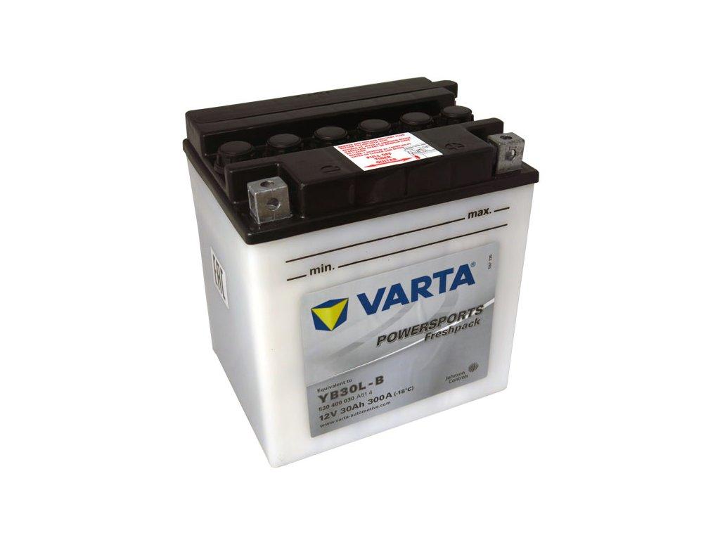 Motobaterie VARTA  YB30L-B, 30Ah, 12V