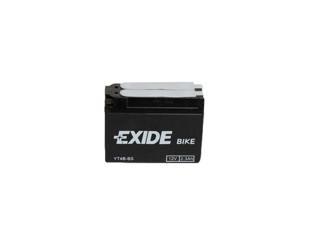 Motobaterie EXIDE ET4B-BS, 12V, 2.3Ah, 35A