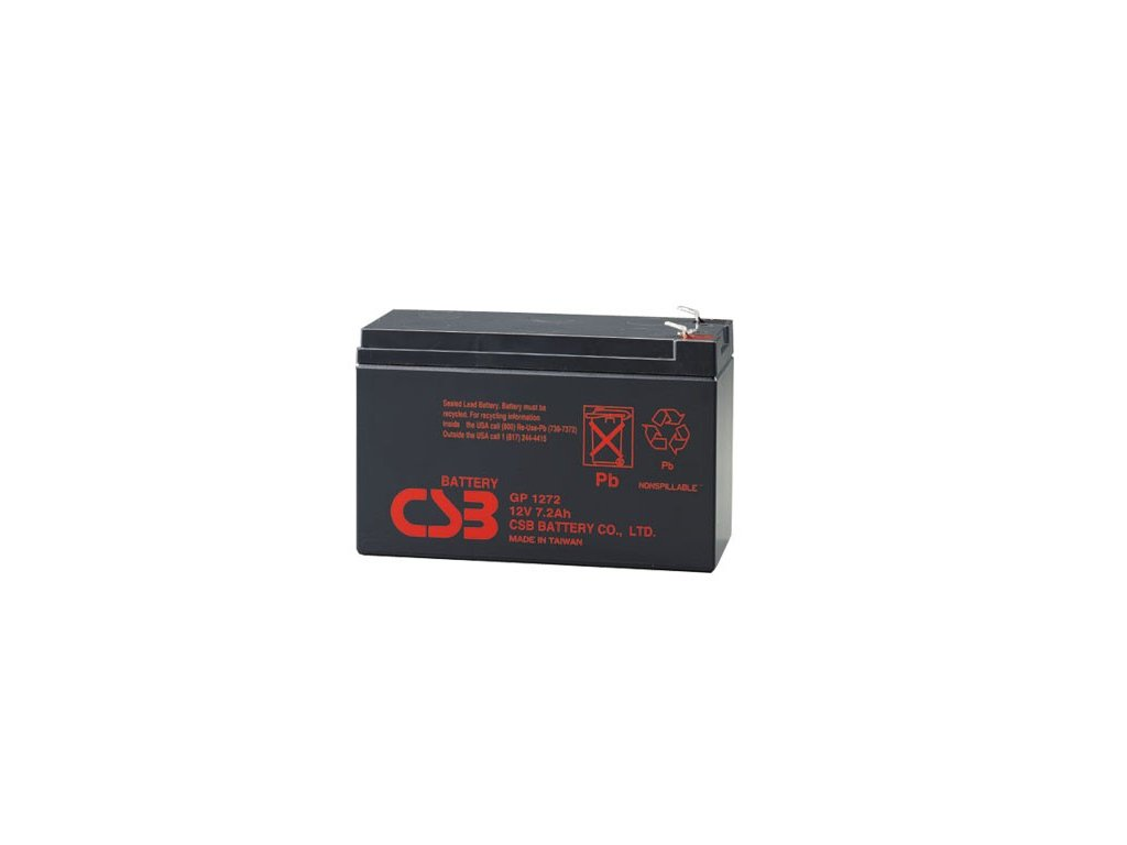 APC RBC40, alternativa bez příslušenství (1ks CSB GP1272 F2)