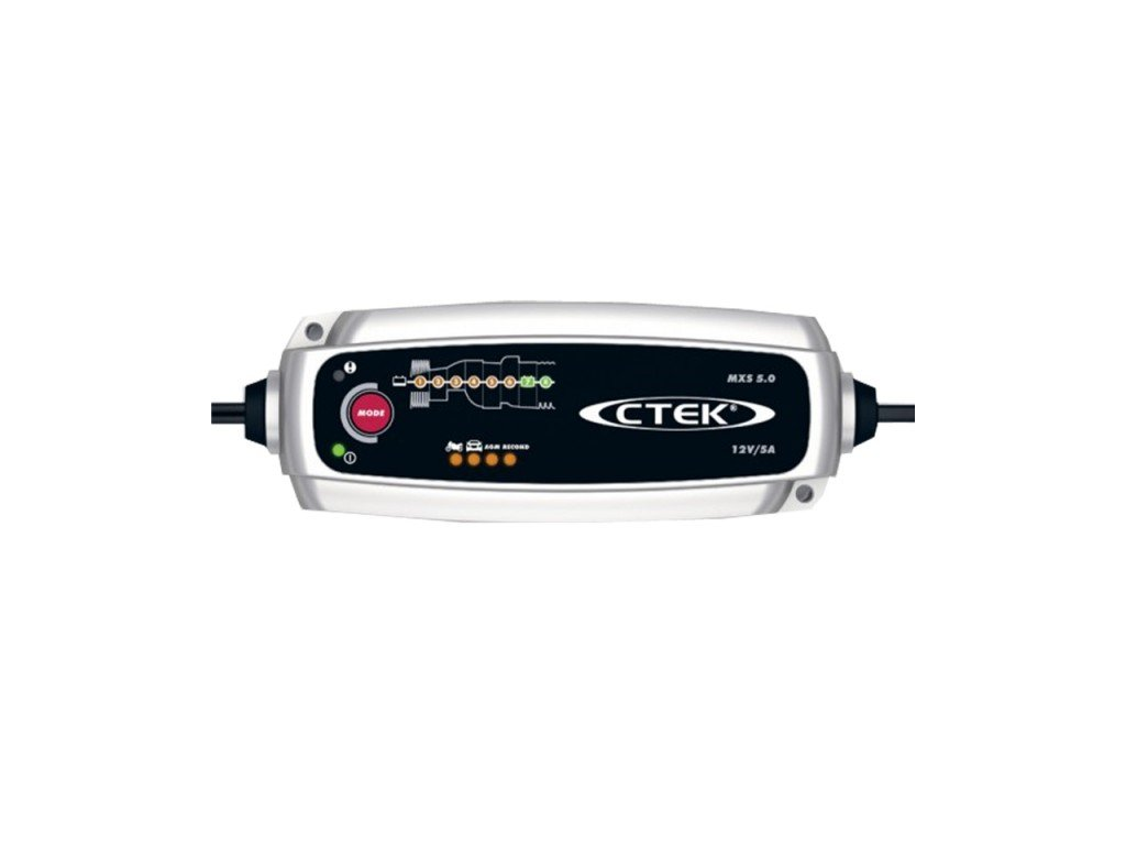 Nabíječka CTEK MXS 5.0, 12V 0.8A/5A s teplotním čidlem