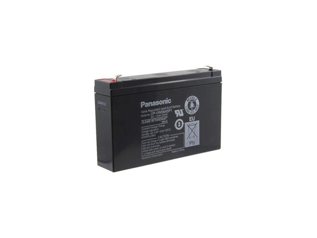 Panasonic UP-VW0645P1, 6V - 7.9Ah, záložní baterie