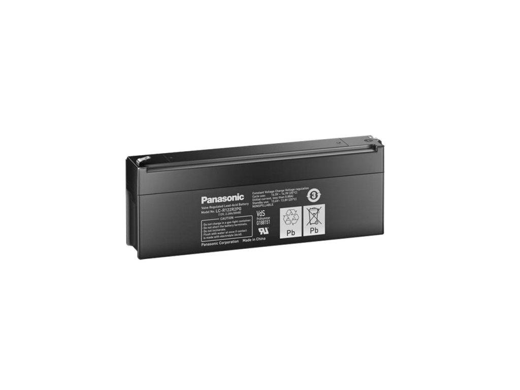Panasonic LC-R122R2PG, 12V - 2.2Ah, záložní baterie