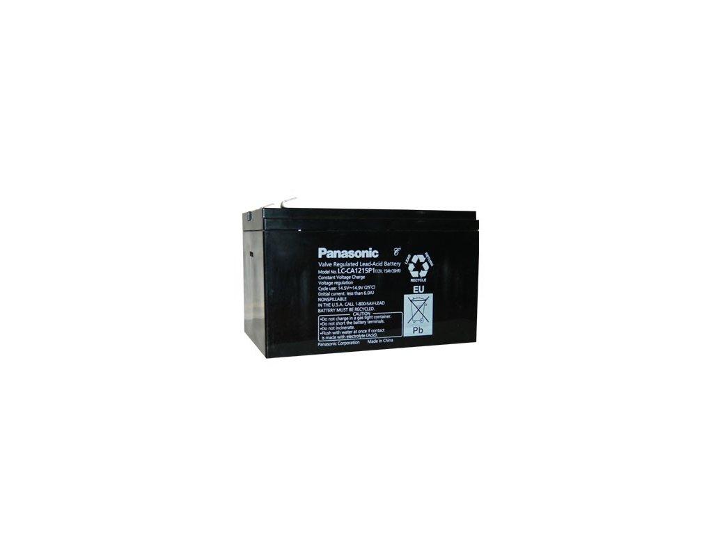 Panasonic LC-CA1215P1, 12V - 15Ah, trakční baterie