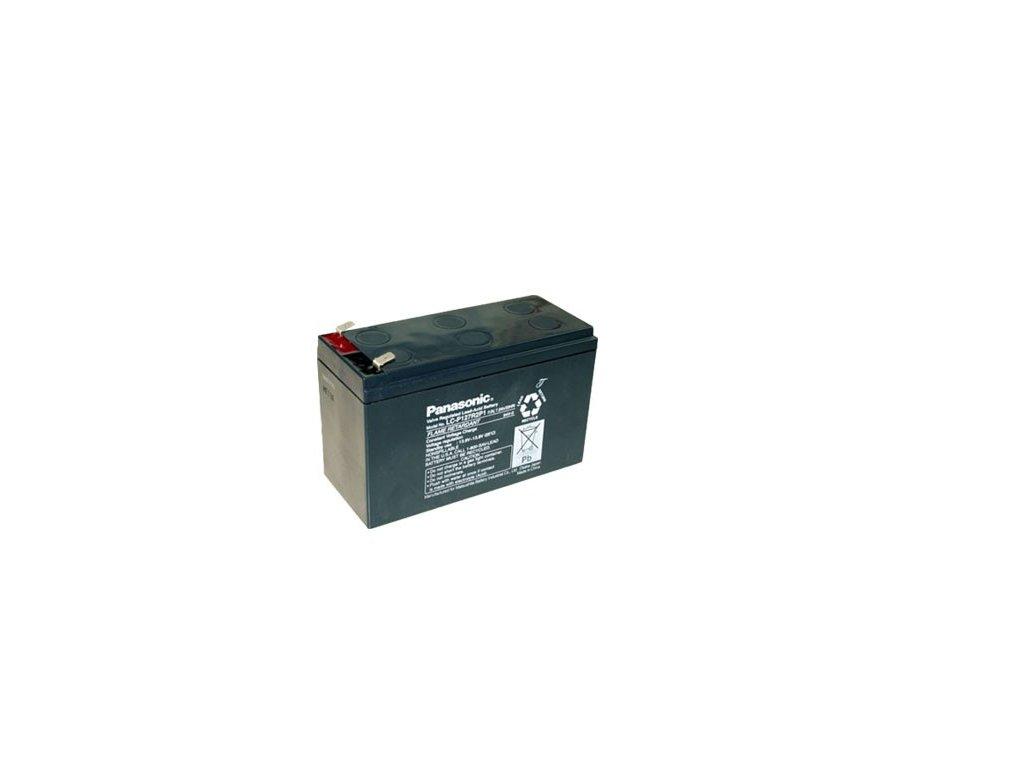 Panasonic LC-P127R2P1, 12V - 7,2Ah, záložní baterie