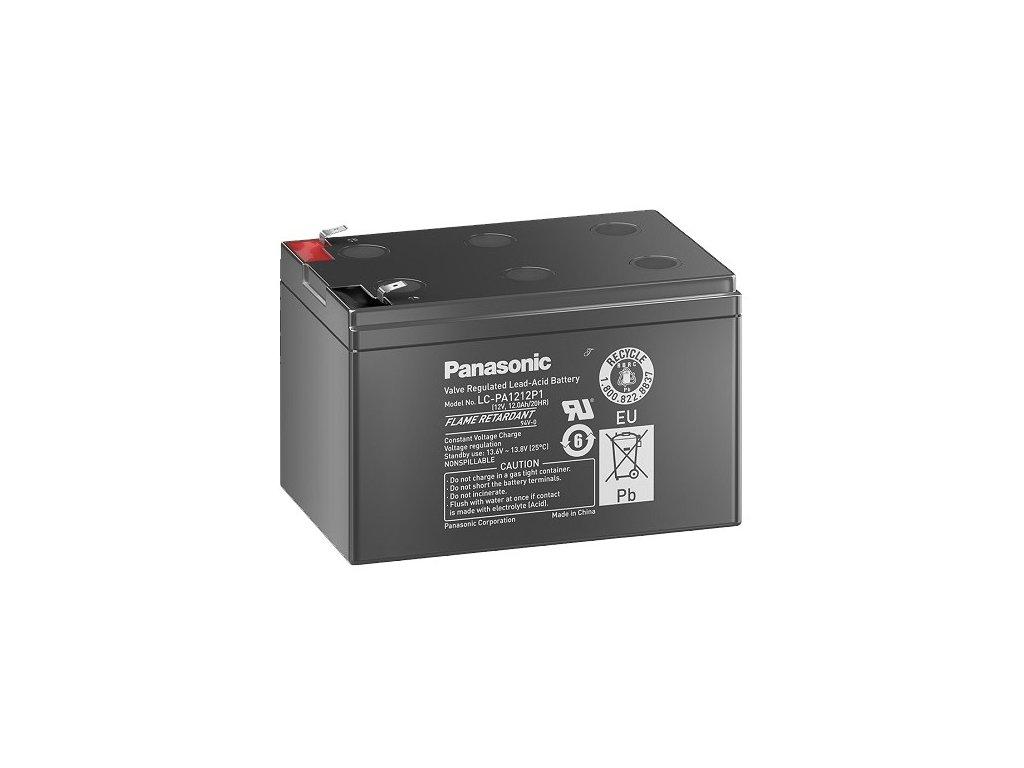 Panasonic LC-PA1212P1, 12Ah, 12V, záložní baterie