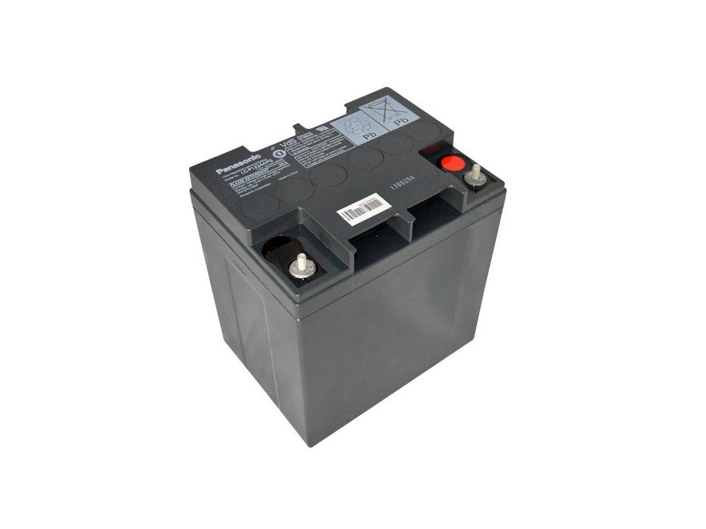 Panasonic LC-P1224APG, 12V - 24Ah, záložní baterie