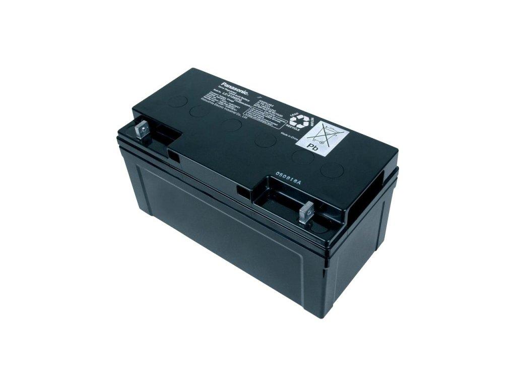 Panasonic LC-X1265PG, 12V - 65Ah, záložní baterie