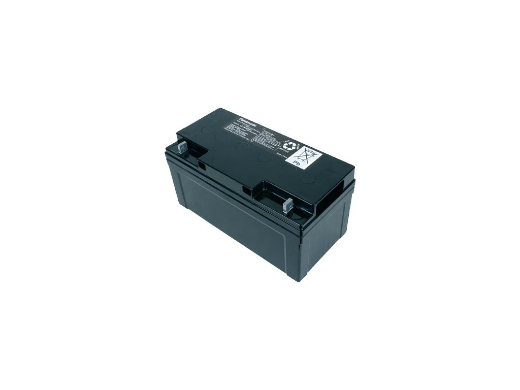 Panasonic LC-X1275P, 75Ah, 12V, záložní baterie