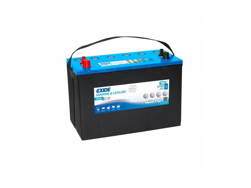 Baterie EXIDE DUAL AGM 100Ah, 12V, EP900 (EP 900)