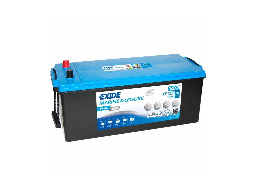 Baterie EXIDE DUAL AGM 140Ah, 12V, EP1200 (EP 1200)