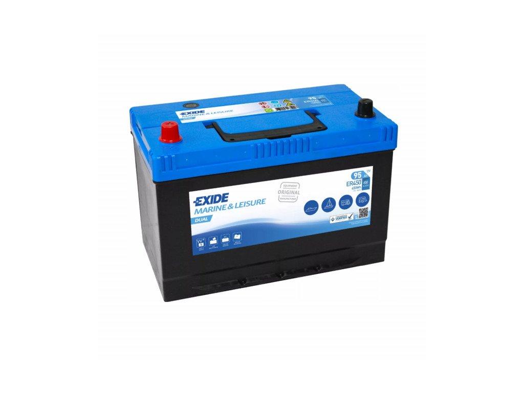 Baterie EXIDE DUAL 95Ah, 12V, ER450 (ER 450)