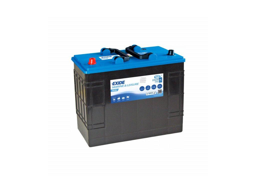 Baterie EXIDE DUAL 142Ah, 12V, ER650 (ER 650)