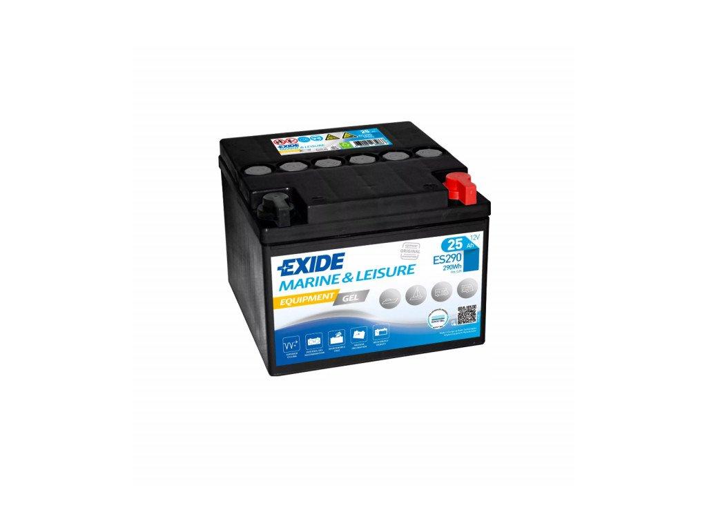 Baterie EXIDE EQUIPMENT GEL 25Ah, 12V, ES290 (ES 290)