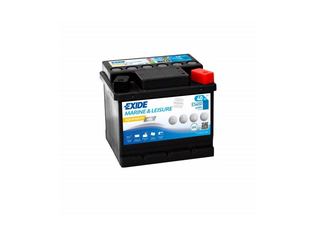 Baterie EXIDE EQUIPMENT GEL 40Ah, 12V, ES450 (ES 450)
