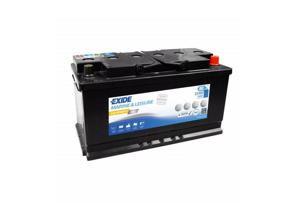 Baterie EXIDE EQUIPMENT GEL 80Ah, 12V, ES900 (ES 900)