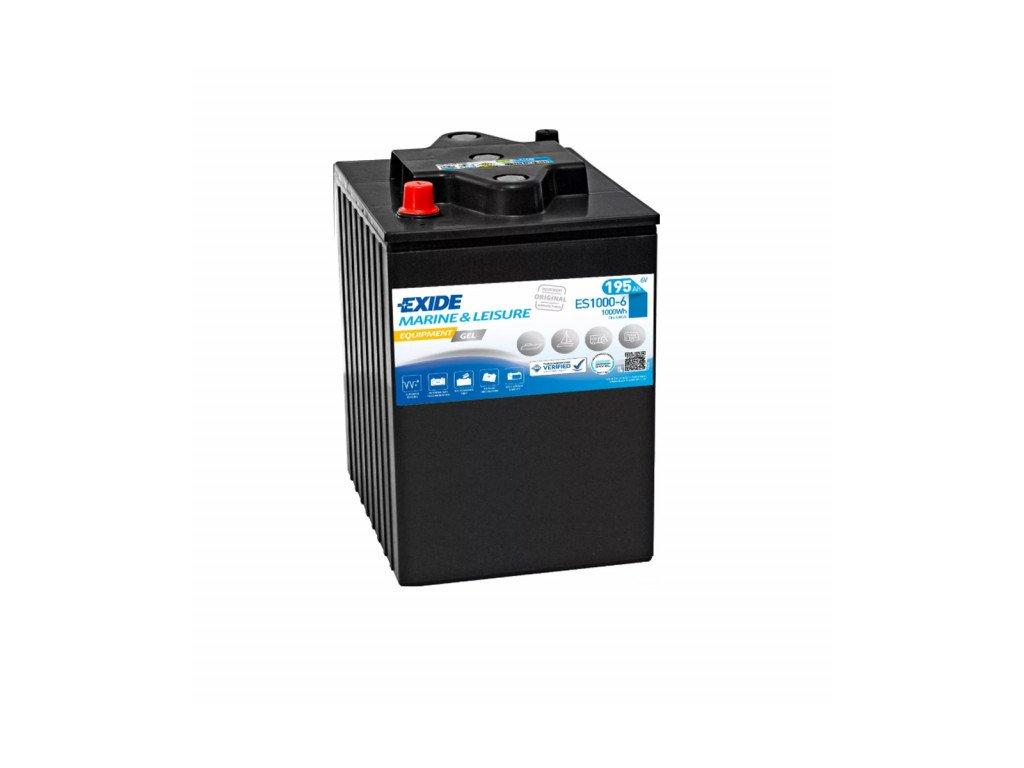 Baterie EXIDE EQUIPMENT GEL 190Ah, 6V, ES1000-6 (ES 1000-6)