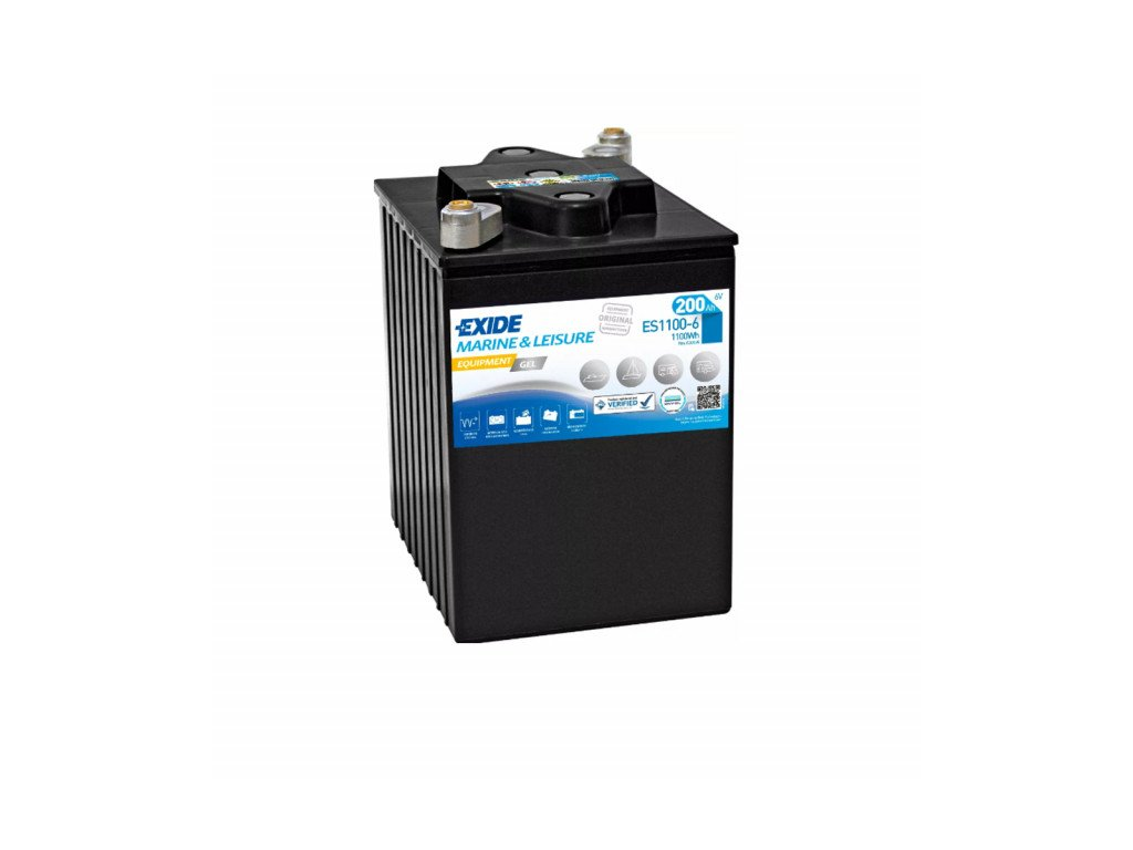 Baterie EXIDE EQUIPMENT GEL 200Ah, 6V, ES1100-6 (ES 1100-6)
