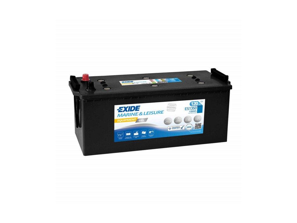 Baterie EXIDE EQUIPMENT GEL 120Ah, 12V, ES1350 (ES 1350)
