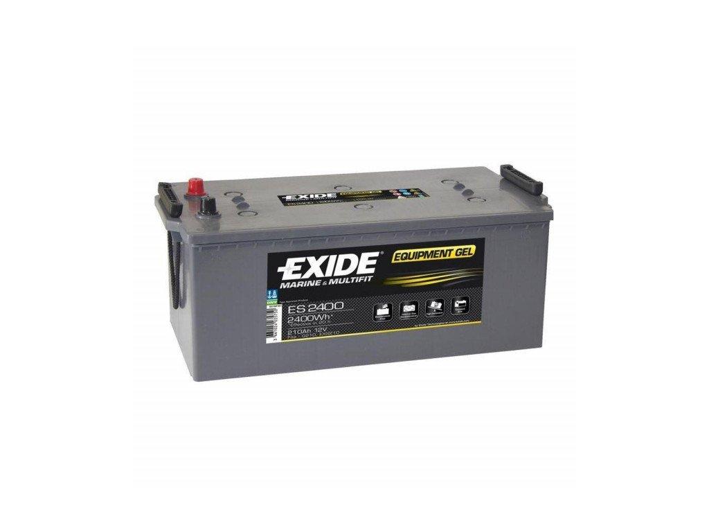 Baterie EXIDE EQUIPMENT GEL 210Ah, 12V, ES2400 (ES 2400)