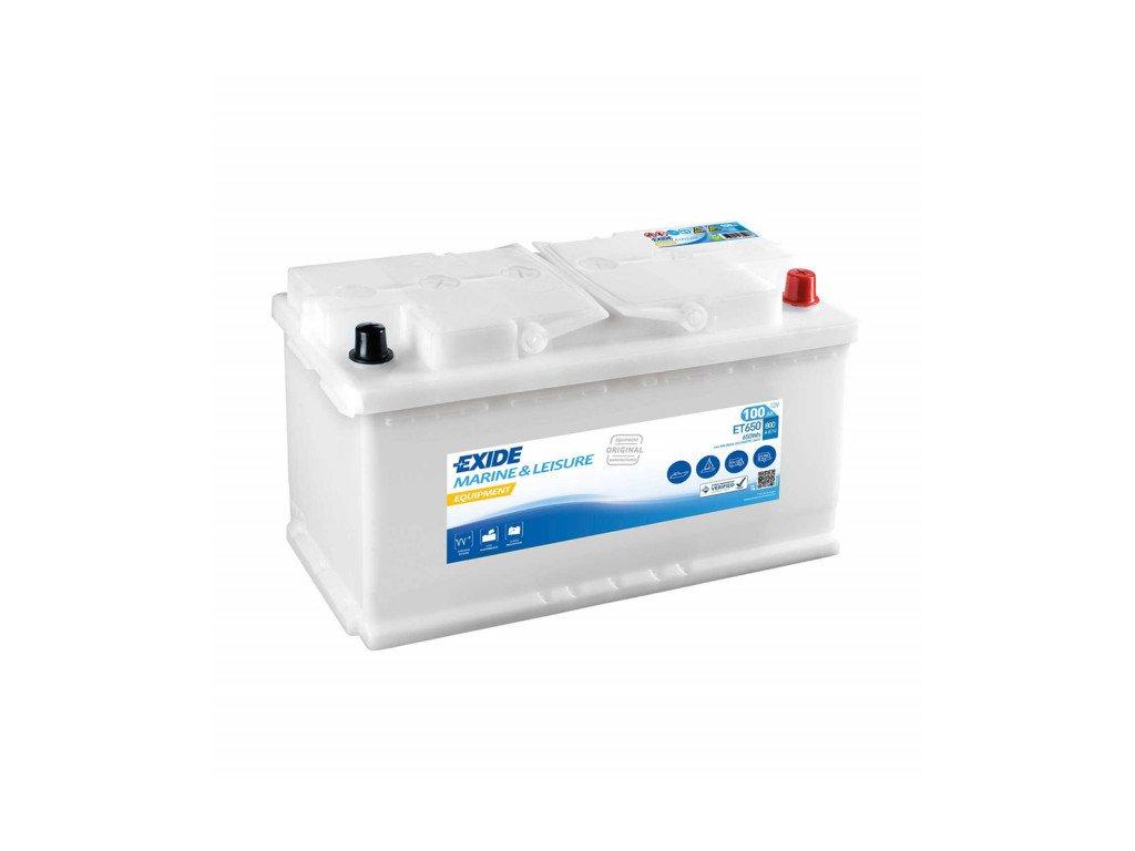 Baterie EXIDE EQUIPMENT 100Ah, 12V, ET650 (ET 650)