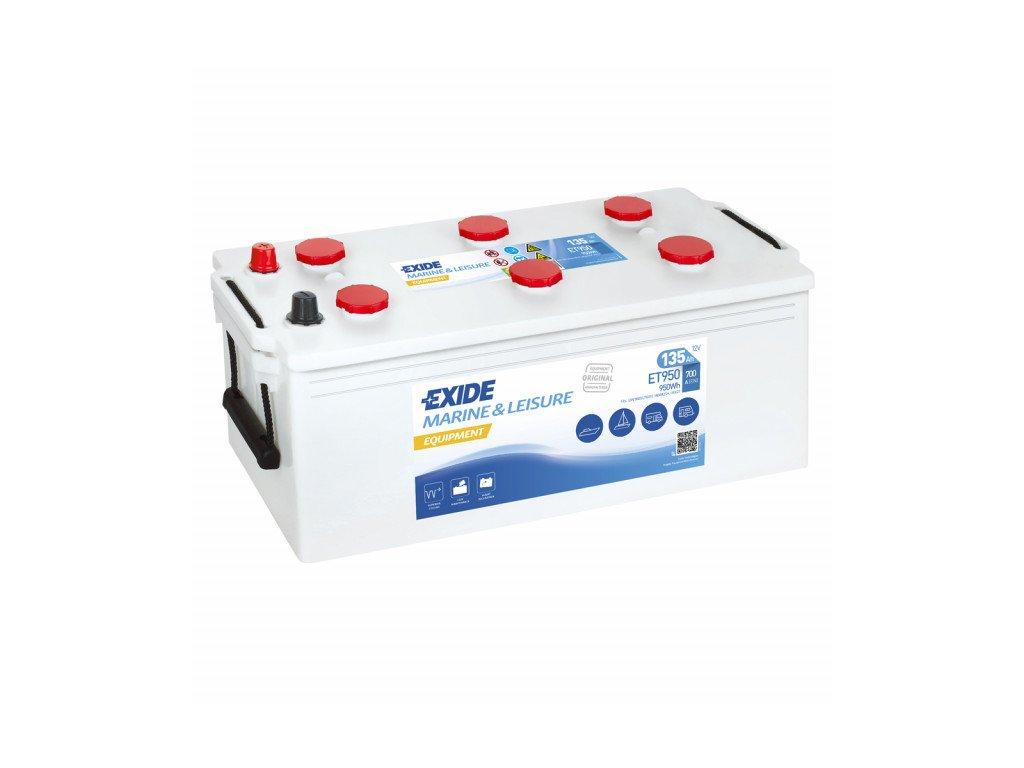 Baterie EXIDE EQUIPMENT 135Ah, 12V, ET950 (ET 950)