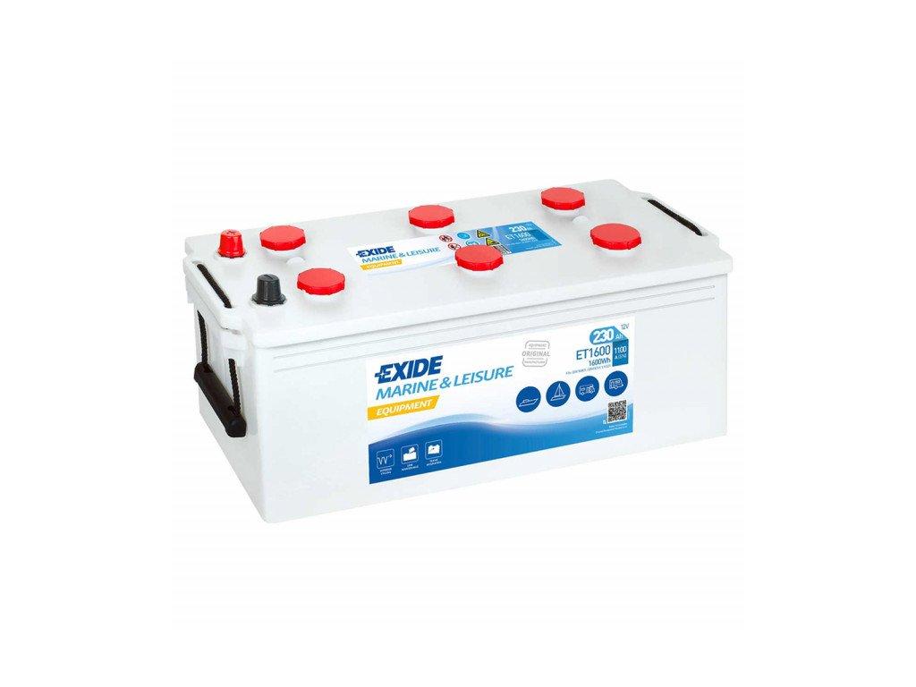 Baterie EXIDE EQUIPMENT 230Ah, 12V, ET1600 (ET 1600)