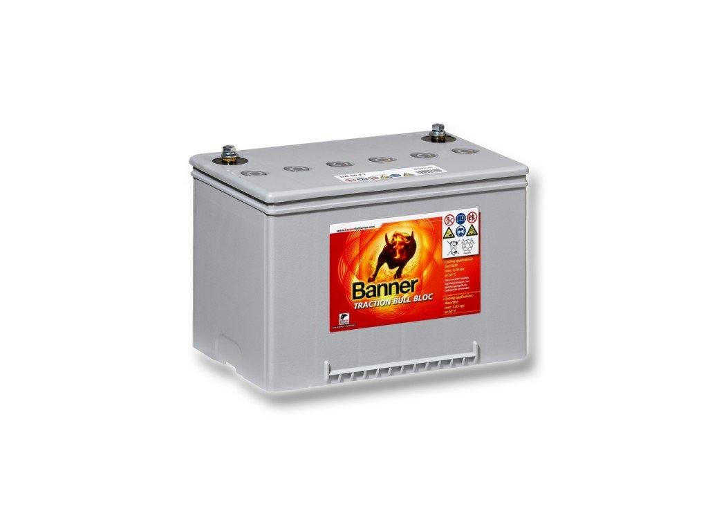 Trakční baterie Dry Bull DB 55, 55Ah, 12V