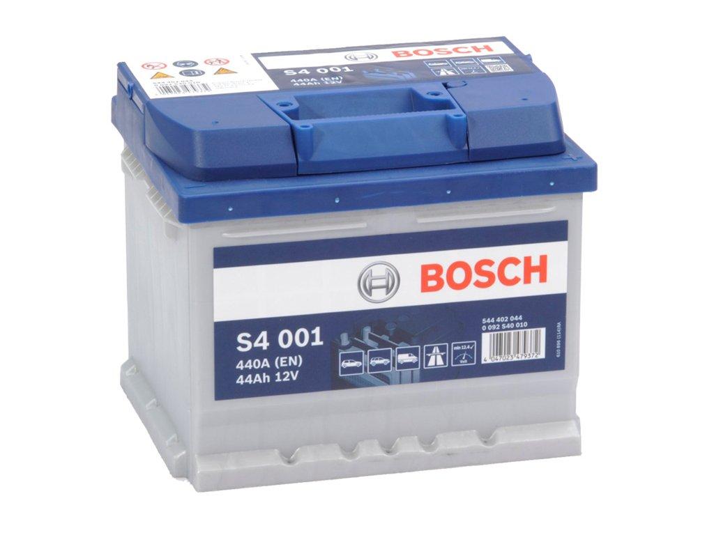Autobaterie BOSCH S4 001, 44Ah, 12V (0 092 S40 010)