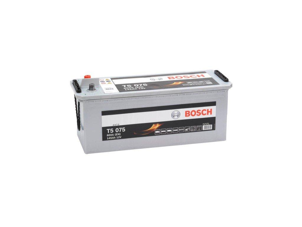Autobaterie BOSCH T50 750, 145Ah, 12V (TECMAXX)