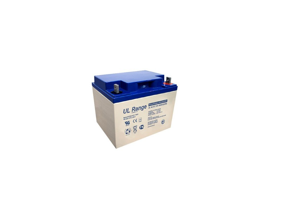 Ultracell UL40-12 (12V - 40Ah), VRLA-AGM záložní baterie