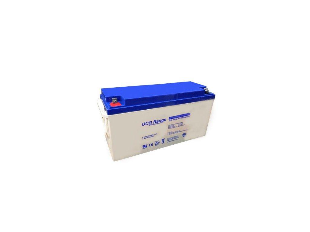 Ultracell UCG150-12 (12V - 150Ah), VRLA-GEL trakční baterie