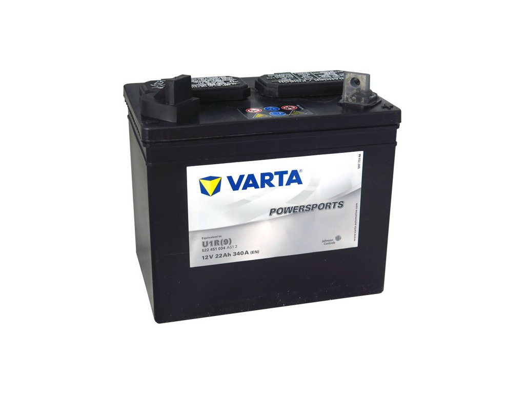Baterie VARTA Gardening U1R (9), 22Ah, 12V