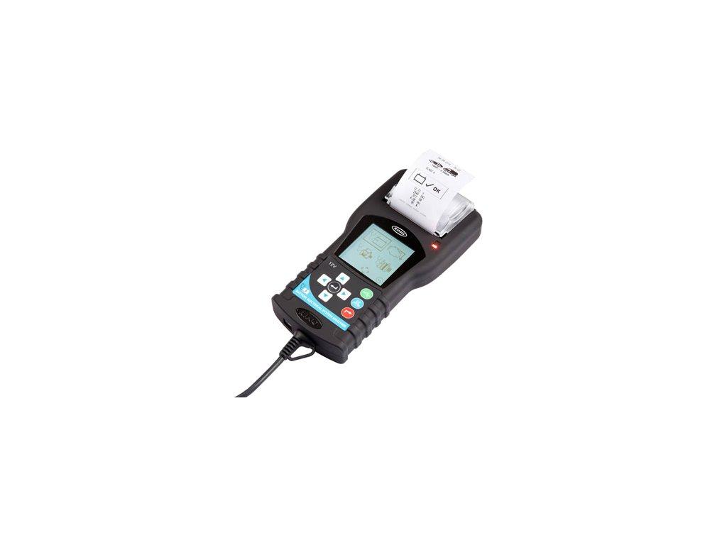 Elektronický multifunkční tester baterií – RBAG 700  (RBA 650) s tiskárnou, pro 12V olověné baterie