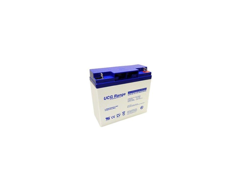 Ultracell UCG20-12 (12V - 20Ah), VRLA-GEL trakční baterie