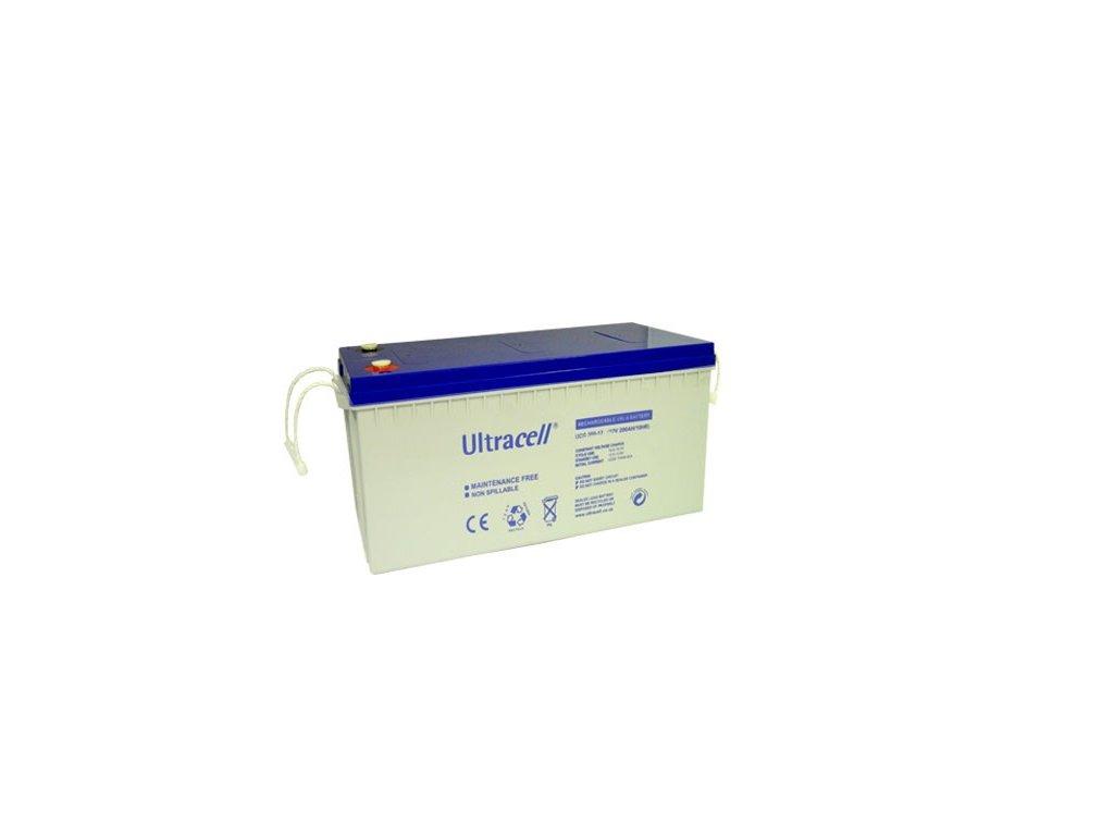Ultracell UCG200-12 (12V - 200Ah), VRLA-GEL trakční baterie