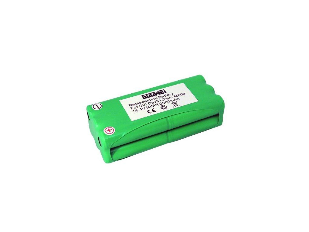 Goowei Baterie Sencor SVC 7020 - 2000mAh, neoriginální