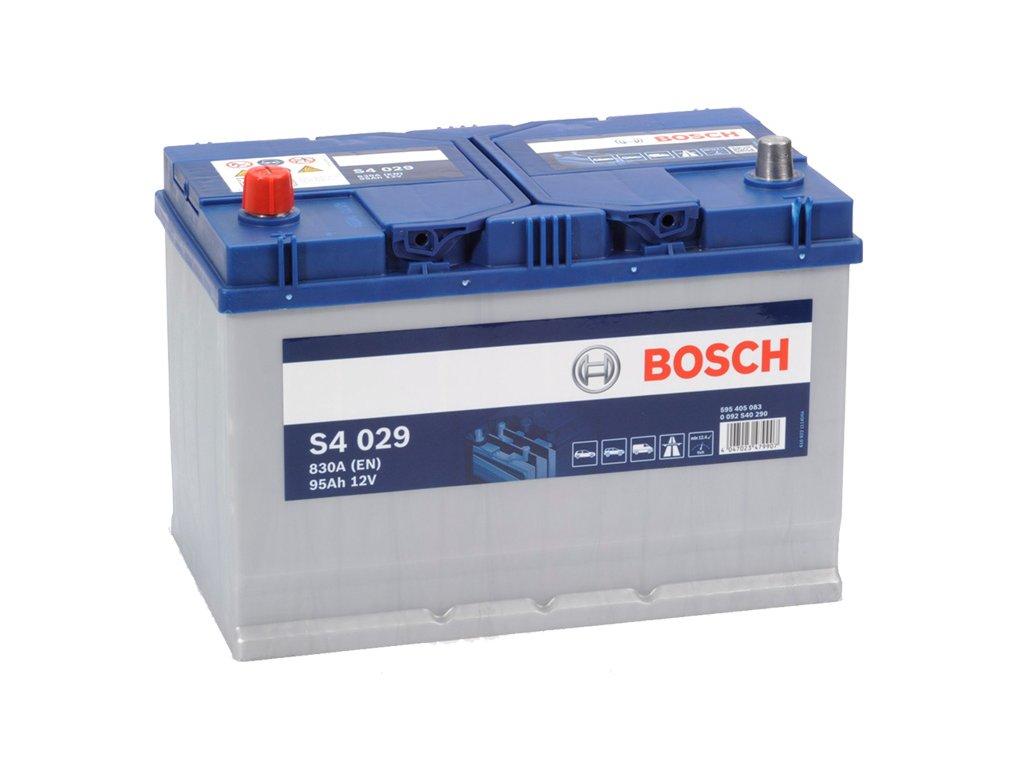 Autobaterie BOSCH S4 029, 95Ah, 12V (0 092 S40 290)