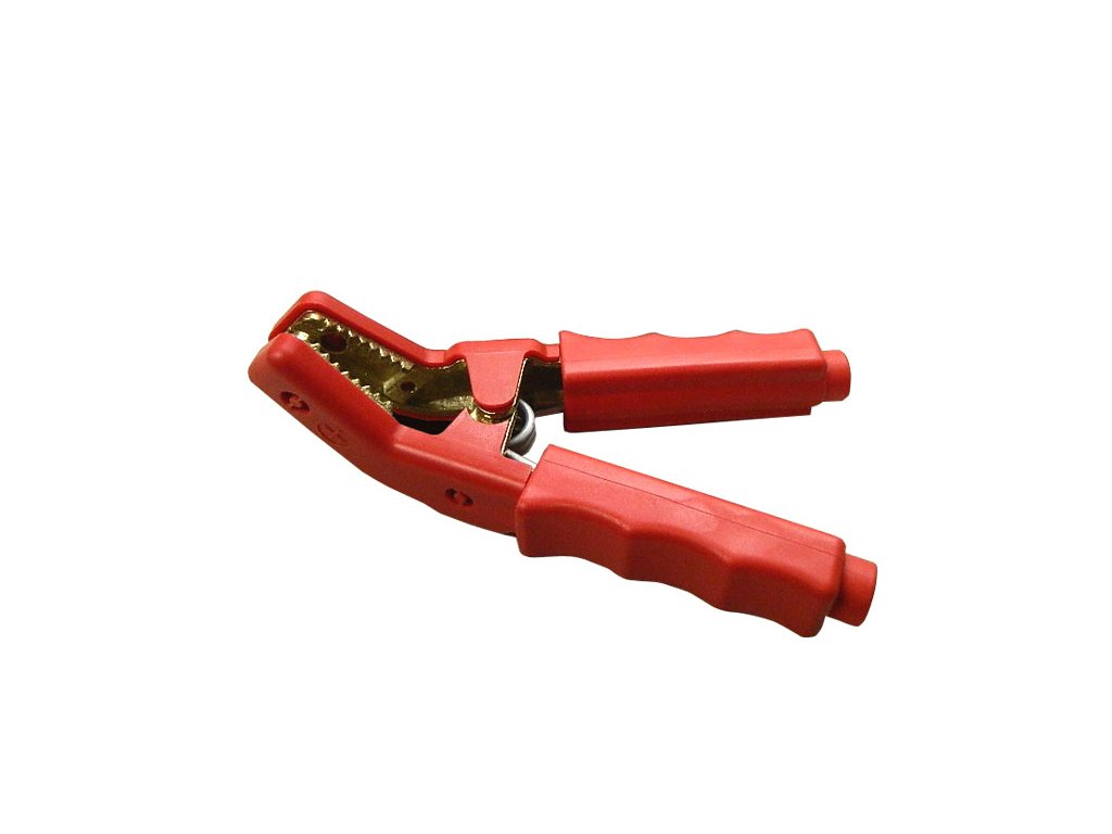 Kleště bateriové 850A PROFI, červené