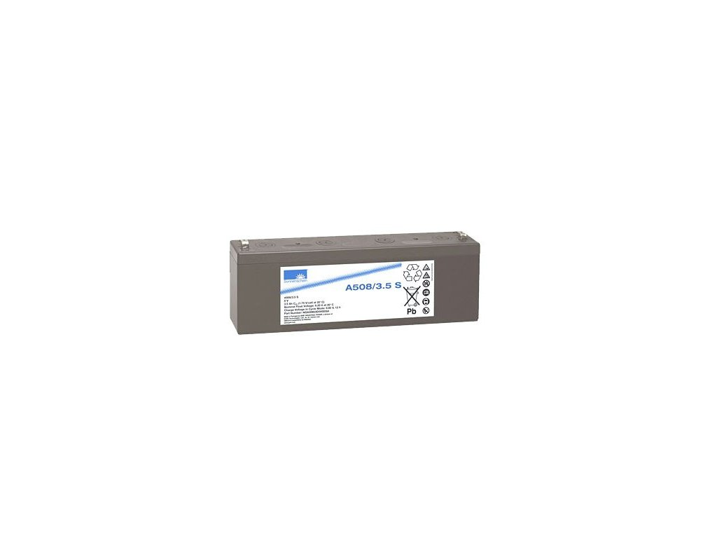 Gelový trakční akumulátor SONNENSCHEIN A508/3.5 S, 8V, 3,5Ah