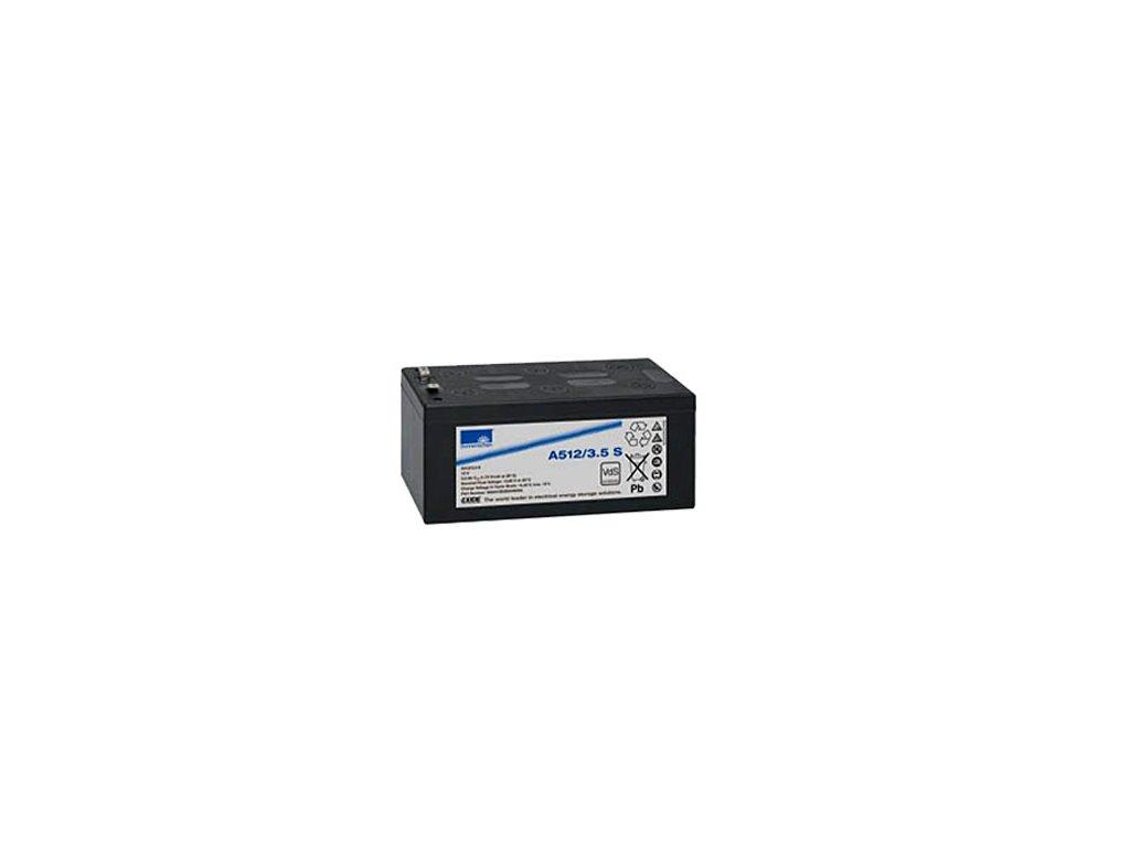 Gelový trakční akumulátor SONNENSCHEIN A512/3.5 S, 12V, 3,5Ah