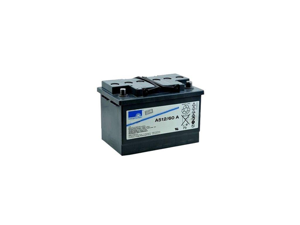 Gelový trakční akumulátor SONNENSCHEIN A512/60 A, 12V, 60Ah