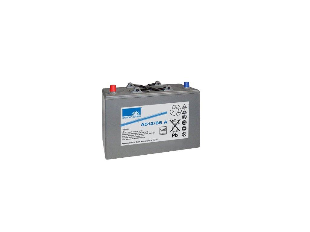 Gelový trakční akumulátor SONNENSCHEIN A512/85 A, 12V, 85Ah
