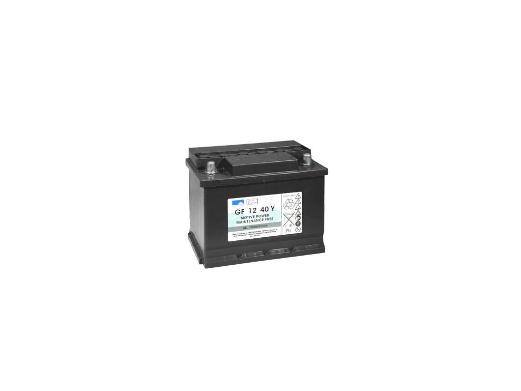 Gelový trakční akumulátor SONNENSCHEIN GF 12 040 Y, 12V, C5/40Ah, C20/48Ah