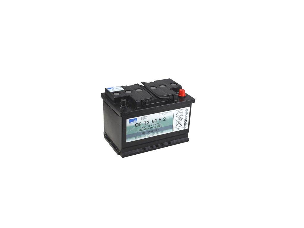Gelový trakční akumulátor SONNENSCHEIN GF 12 051 Y 2, 12V, C5/51Ah, C20/56Ah