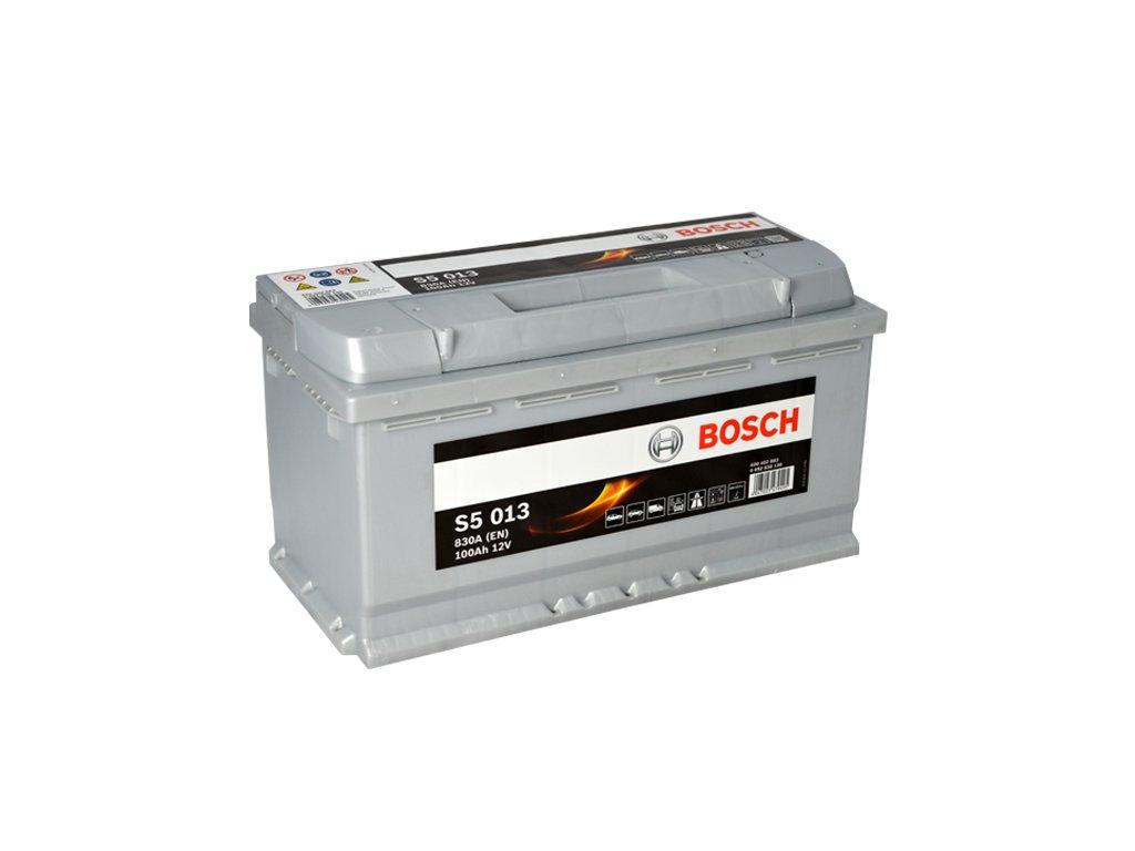 Autobaterie BOSCH S5 013, 100Ah, 12V (0 092 S50 130)