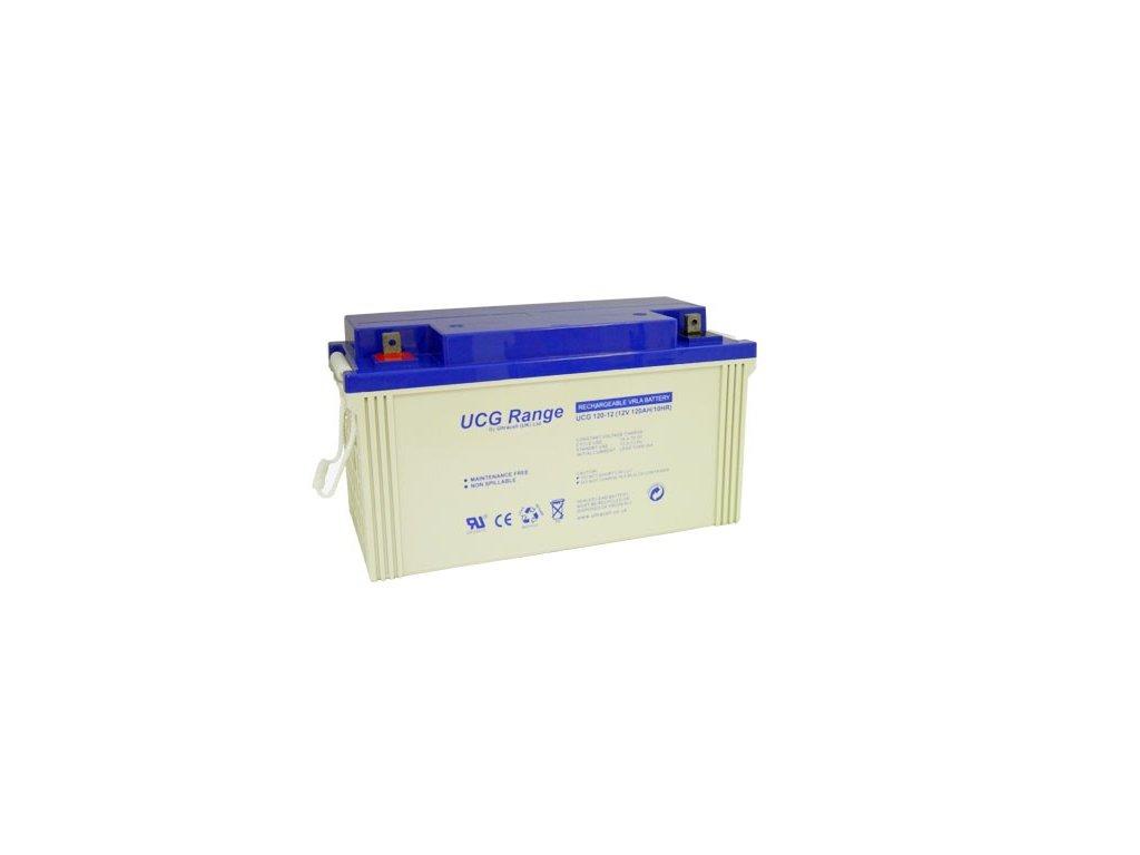 Ultracell UCG120-12 (12V - 120Ah), VRLA-GEL trakční baterie
