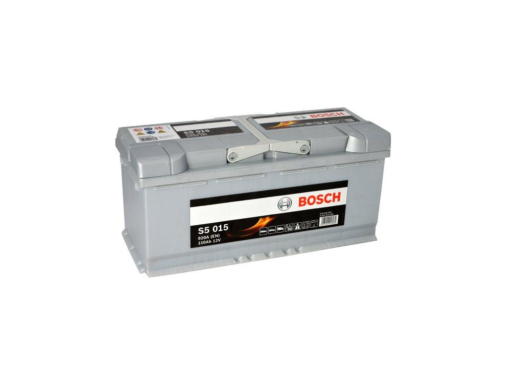Autobaterie BOSCH S5 015, 110Ah, 12V (0 092 S50 150)